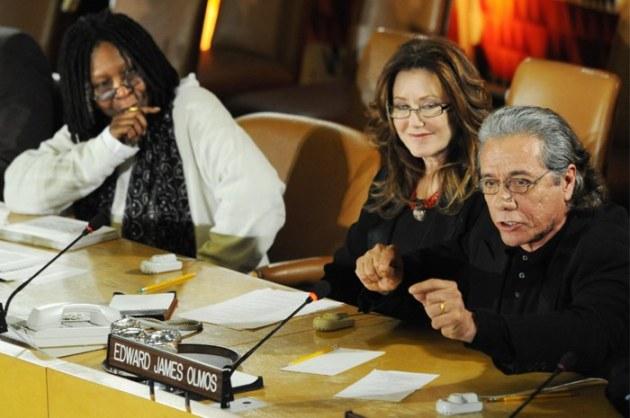 BSG cast at UN