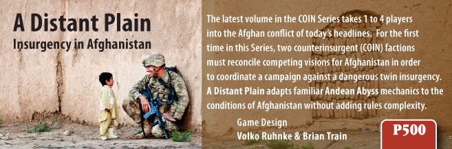 COIN in Afghanistan: A Distant Plain (5/5)
