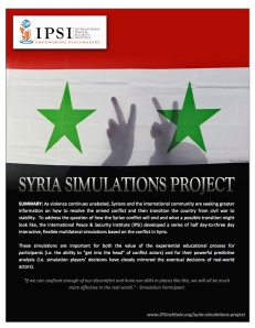 IPSI-Syria-Simulations-Project-Report