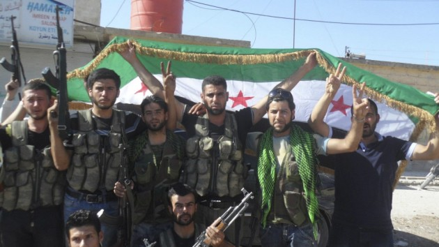 members-free-syrian-army-celebrate-rebels-take-control-key-crossings-into-turkey-iraq