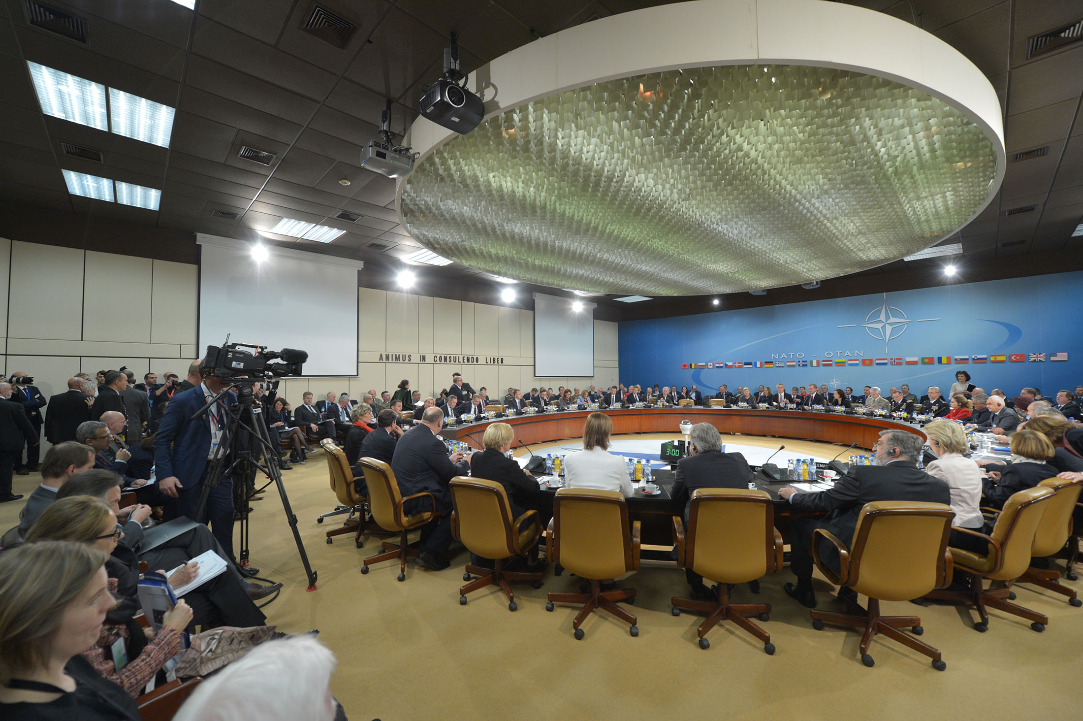 Meetings of the NATO Defence Ministers at NATO Headquarters in Brussels- Meeting of the North Atlantic Council