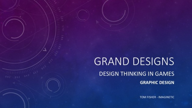 Grand Designs Design Thinking in Games Graphic Design Presentation