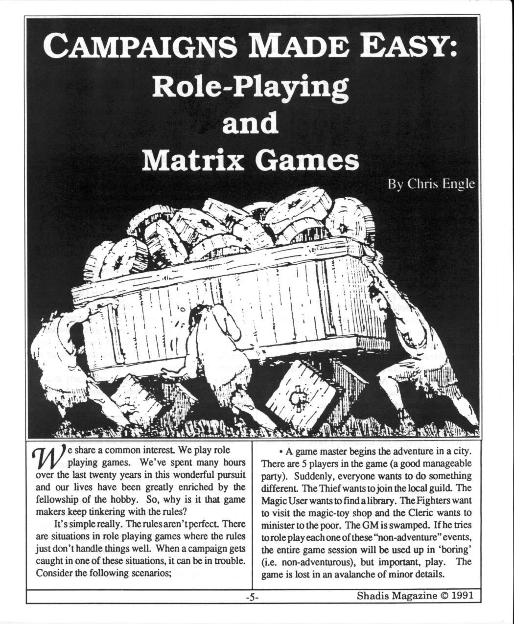 Matrix Games in Shadis Magazine #06 (dragged)